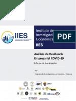 analisis de resiliencia empresarial Covid-19