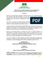 Estatuto DEMOCRATAS - Reformado 2015 OFICIAL.pdf