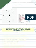 clase 3 10-04-18I Estructura cristalina