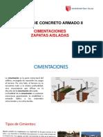 CIMENTACIONES -ZAPATAS_AISLADAS