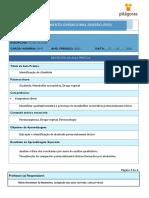 POP - Toxicologia 01 - Identificação de Alcalóides - Prof. Flávio Maximino