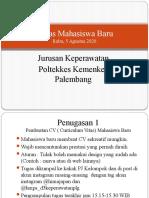 Tugas (5 Agustus 2020) Mahasiswa Baru PKKMB 2020 Keperawatan Poltekkes Palembang (1).pptx