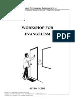 Workshop for Evangelism  - Study Guide.pdf