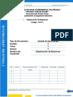 Organizacion- Aprendizaje CLASE 1