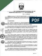 Resolución Modificación del RIT - Nº 051-2016-SUNARP-SN