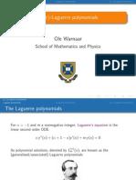 (q; t)-Laguerre polynomials_Ole Warnaar