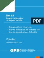 Sitrep81_15 Junio_100 Días