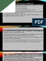 RELACION ENTRE PSICOLOGÍA Y DERECHO (1)