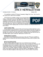 70th Precinct Newsletter-Jan2011
