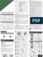 Manual Instalação Valvula Descarga DOCOL