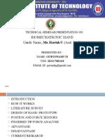 Mech Biomechatronic Hand ppt