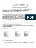 El Evangelismo.doc