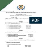 TRAVAUX DIRIGES DE COMPTABILITE DES OPERATIONS COURANTES II