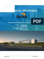 TECKA Technical Proposal For Dual Cooling Intelligent Energy Station T-TEC20081401