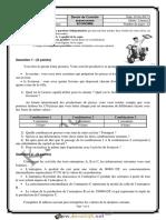Devoir de Contrôle N°4 Lycée pilote - Économie - 2ème Economie & Services (2016-2017) Mr Kamel Ajour.pdf