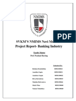 Industry Analysis Project Report_Banking Industry