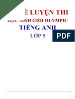 BỘ ĐỀ LUYỆN THI OLYMPIC 5