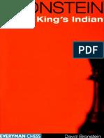 Bronstein David - Bronstein on the King's Indian, 1999-OCR,Everyman, 210p