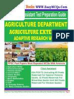 Agriculture Filed Assistant Job MCQs PDF Book.pdf