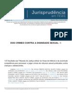 Jurisprudencia em Teses 151 - Dos Crimes Contra a Dignidade Sexual - I.pdf