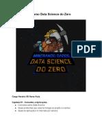 Ementa do Curso - Data Science do Zero