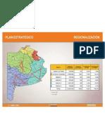Regionalización - Mapa de la Provincia de Buenos Aires