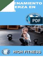 E-book niños y el entrenamiento de fuerza