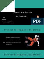Técnicas de Relajación  de Jakobson