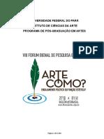 Anais do VIII Fórum Bienal de Pesquisa em Artes.pdf
