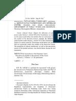 Torrecampo vs. Metropolitan Waterworks and Sewerage System 649 SCRA 482 , Ma