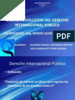 DIAPOSITIVAS DEL OBJETO Y EVOLUCION DEL D I P