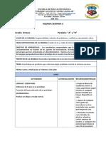 5 SEMANA AGENDA SEMANAL Y PROYECTOS ESCOLARES BÁSICA SUPERIOR.docx