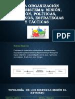1.3 La Organizacion Industrial como Sistema Mision, Vision, Politicas..pptx