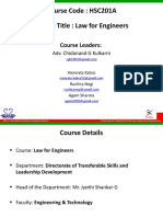 Law for Engineers Session 5_Law of Torts
