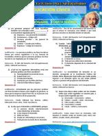 SOLUCIONARIO CIVICA 2019 - CUARTA SEMANA