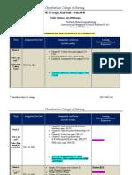 NUR 341 Weekly Calendar Section 60740 July 2020