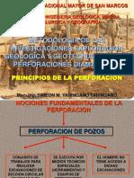 PRINCIPIOS DE PERFORACION