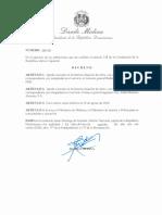 Decreto 318-20