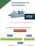 REQUERIMIENTOS DE ACONDICIONAMIENTO DE FORMAS DE DOSIFICACIÓN