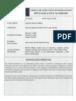 Investigative Predicate