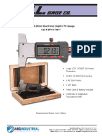 GAL-Gage-Cat-SPI13-749-7-Specifications