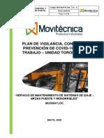 Plan de Vigilancia, Control y Prevención de Covid-19