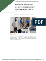 Futsal do Corinthians utiliza novo componente na preparação física – Liga Paulista de Futsal
