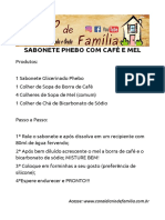SABONETE PHEBO COM CAFÉ E MEL