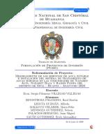 FORMULACION DE PROYECTOS - AYNI PROYECTOS