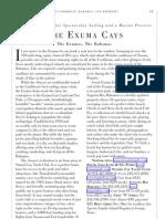 The Exuma Cays