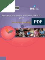 INEI_Encuesta nacional de uso del tiempo 2010