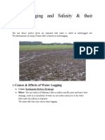 Water Logging and Salinity