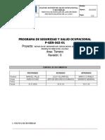 PG-SGI-01 Plan de Seguridad Mineral