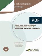 educación inclusiva santiago cueto y otros